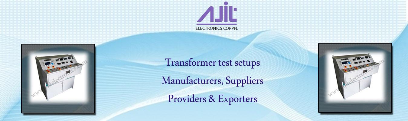 Transformer test setups