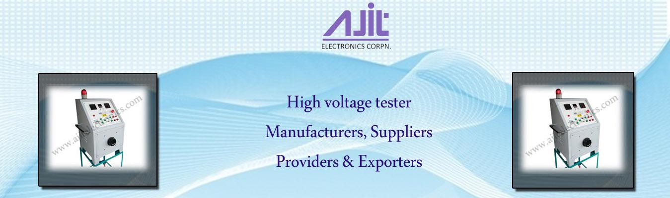 High voltage tester