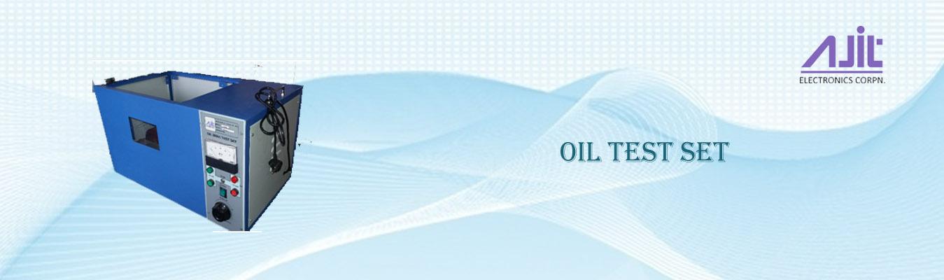 Oil Test Sets