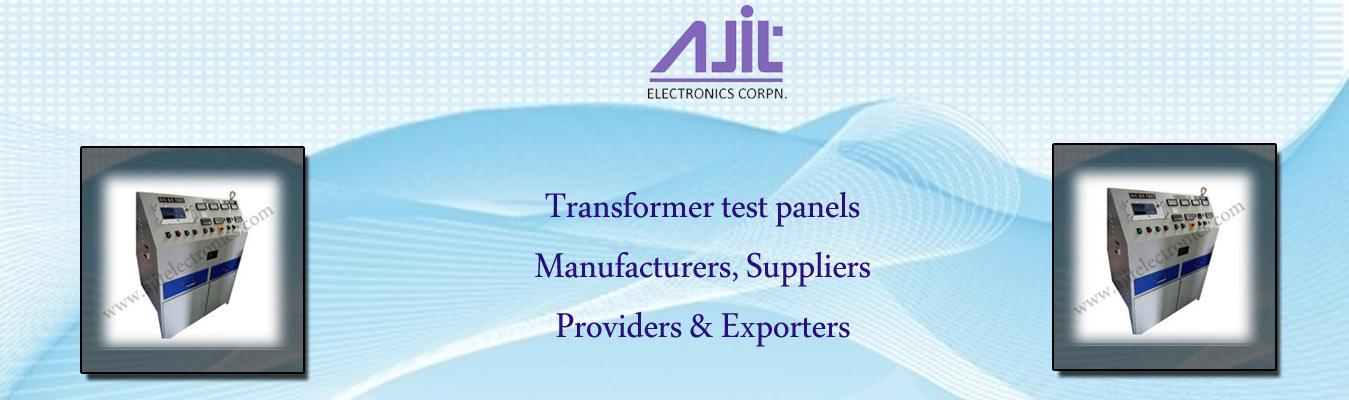 Transformer test panels